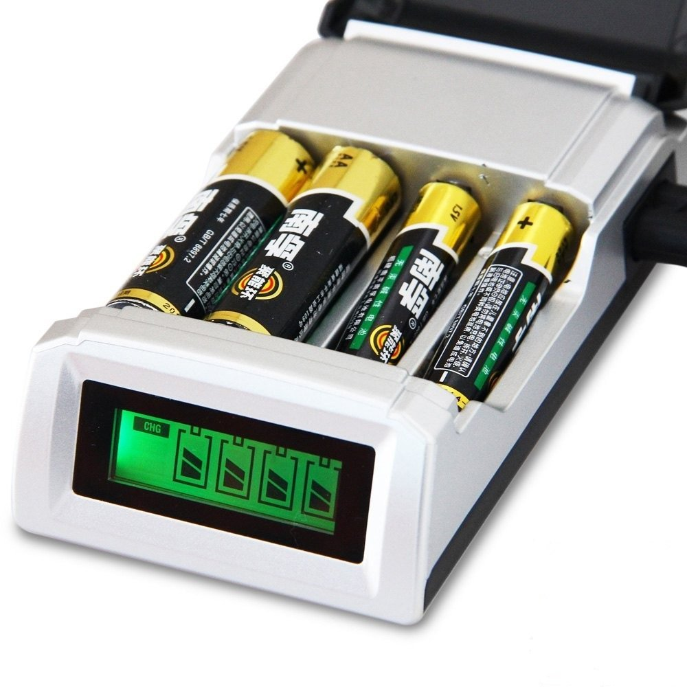 Cheap Alkaline Battery Charger Circuit Find How To Make A Nimh Nicd Homemade Get Quotations Original C905w Lcd Smart For Aa Aaa Rechargeable With 4 Slots