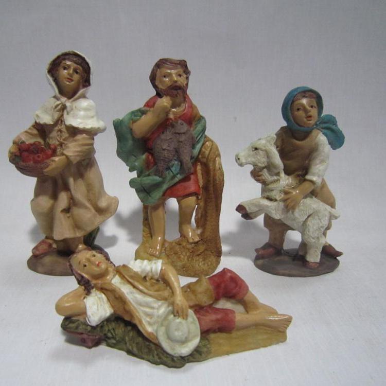 Kerst kribbe groep standbeelden souvenirs katholieke religieuze artikelen