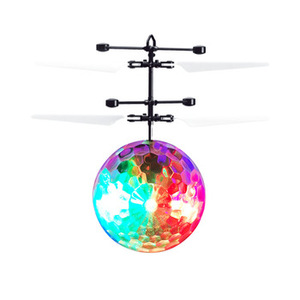Mini colorful flash flying ball toy with infrared sensor with remote control from one light year