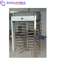 Full Height Turnstile signal door / Rotary Turnstile door gate for Security Access Control GAT-502