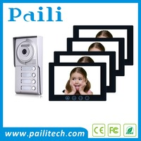 2 wire apartment intercom system videoportero inalambrico electronic security systems for 4 apartments