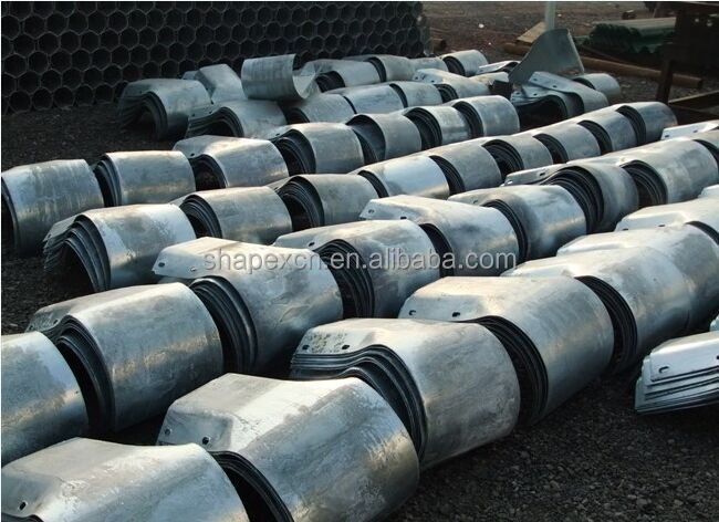 Corrosion Resistant Steel Corrugated Security Guardrails for Roads