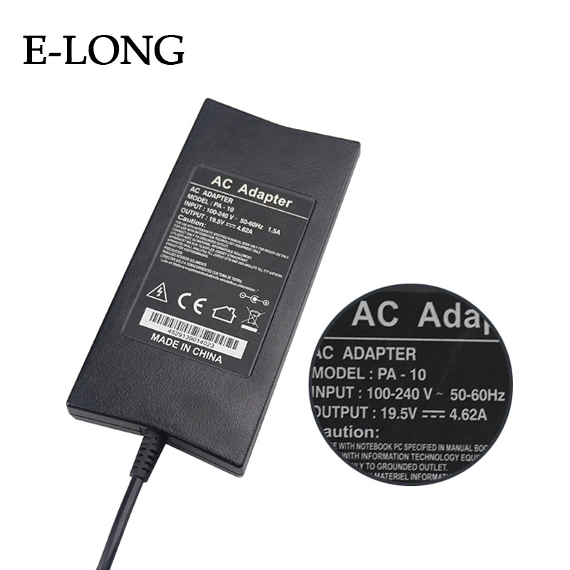 90W Universal laptop adapter 19.5V 4.62A power adapter 7.4*5.0 mm
