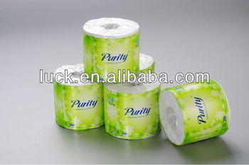 Eco-friendly green bamboo mix sugar cane bagasse toilet paper
