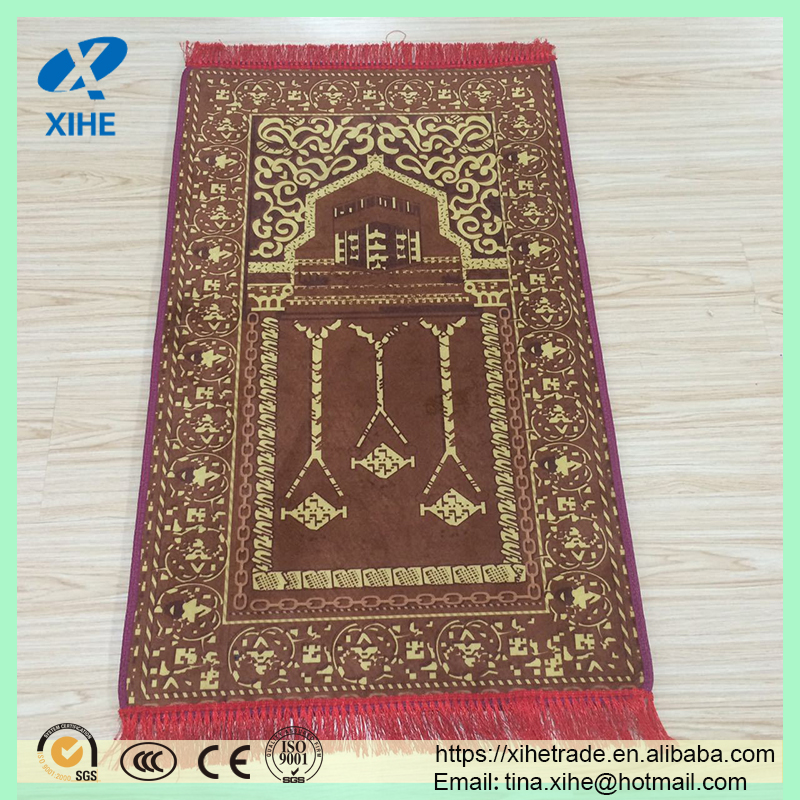 wholesale prayer mat for muslim prayer use