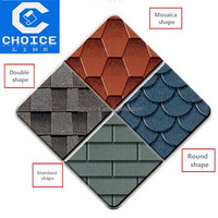 cheap roofing materials red Asphalt Shingles/tiles