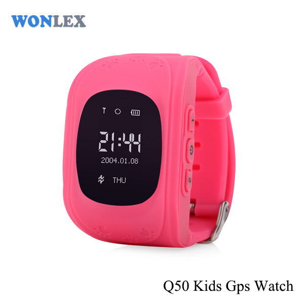 Wonlex Cheap Android child Q50 gps tracking device people with sos