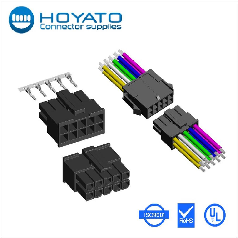 3.0mm Crimp Type Wire Connectors Replace Molex 43025 - Buy Crimp ...