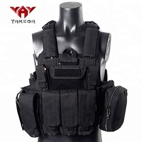 YAKEDA fashion army police camo military bulletproof plate carrier tactical vest