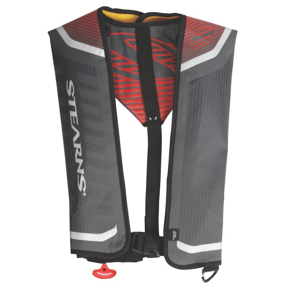 Stearns Fastpak 24G A/M Inflatable Life Vest Red (Part #3000004374 By Stearns)