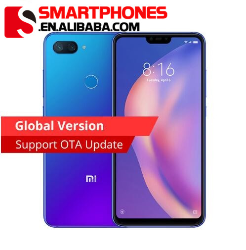 "Global version Xiaomi Mi 8 Lite 6GB 128GB Mi8 Lite Smartphone 24MP Front Camera Snapdragon 660 AIE Octa Core 6.26"",Wholesale Price"