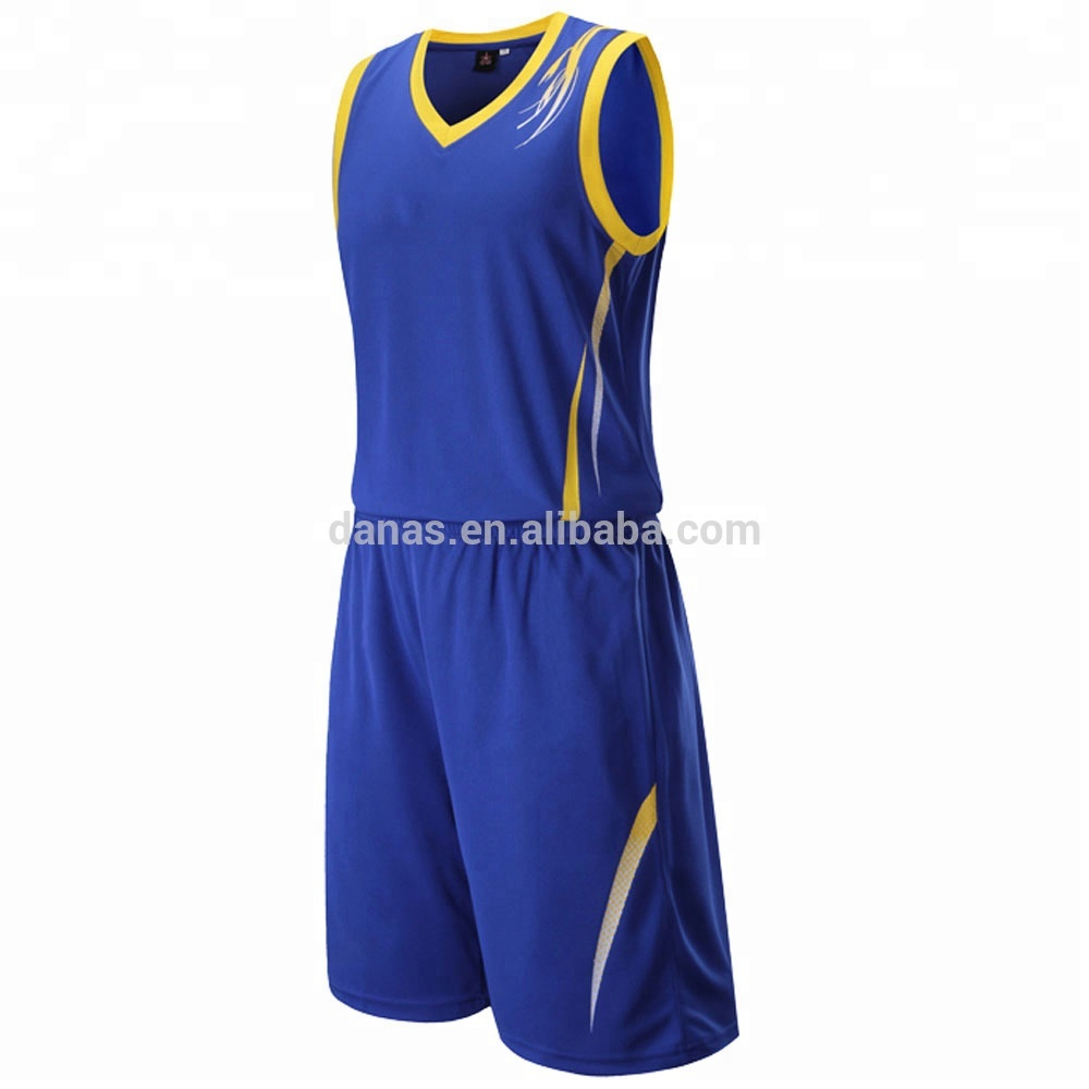 New style design good quality quick dry mesh basketball jersey