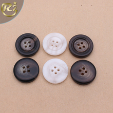 N-1249 Polyester Suit Shirt For Man Garment Accessory China Factory Custom Sewing Resin Button