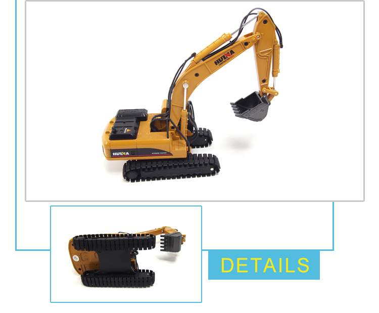 professional 1:50 scale miniature alloy excavator mini models