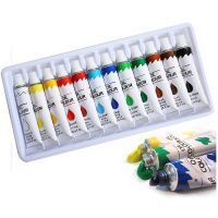 China Factory Artist Quality Oil Painting Set 12ml x 12 Art Paints