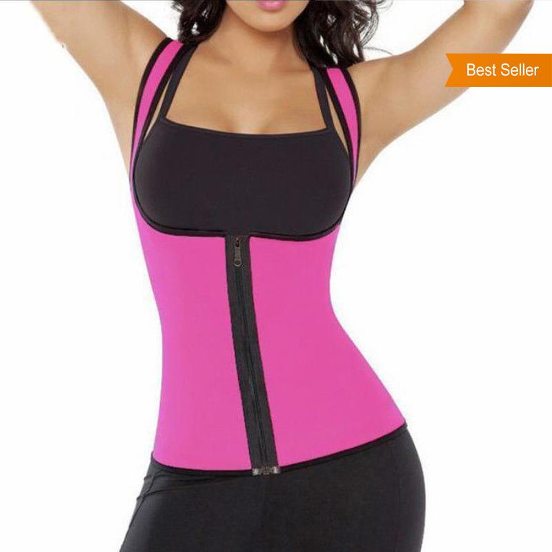 6c26f563ffb2d FS-CW02 Wholesale Neoprene Waist Corset Sauna Perfect Full Body Shaper  Slimming Vest For Women Walmart