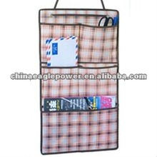 Beauty squares and Pane stripe hanging closet organizers