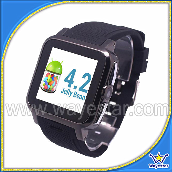 Low Price China 1.54 inch Watch Phone with Sim Card WIFI Smart Watch 2016