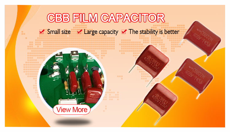 Professional metalized film capacitor 400V 125
