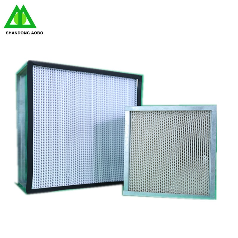 Deep pleated hepa filter H13 H14 Air Filter