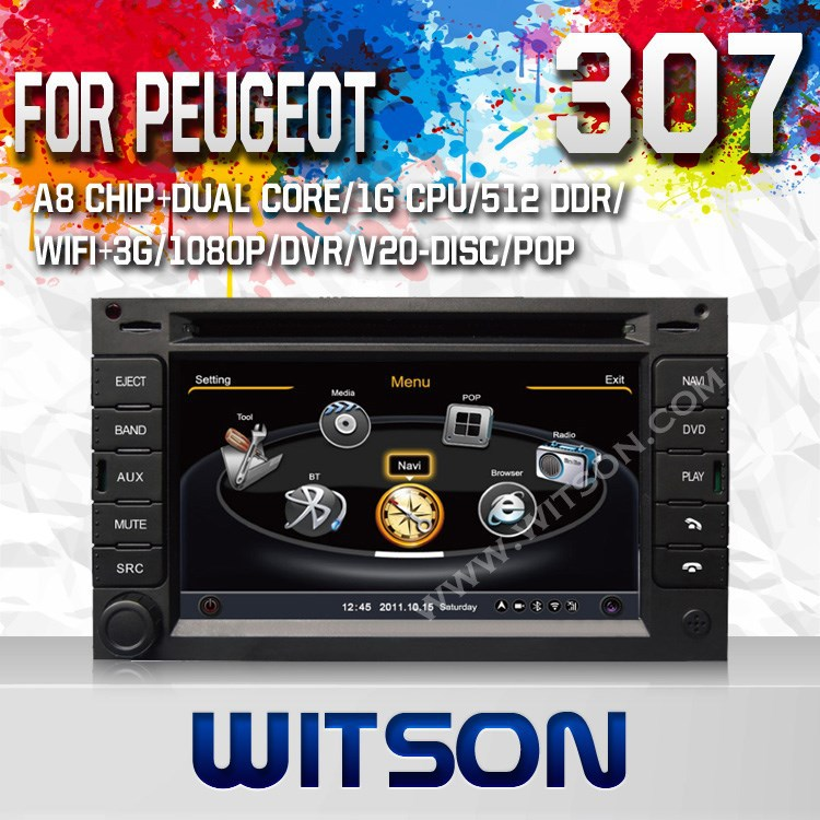 WITSON VW GOLF 4 car dvd AND gps