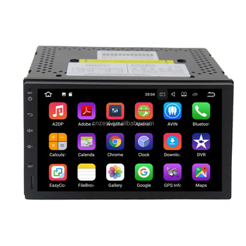 Androider Auto-Navigator-Multimedia-System 2din Universal-Android-Auto-DVD-Player