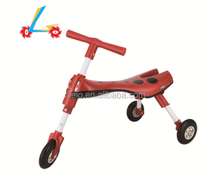 Factory cheap plastic baby walker ,three wheel baby walker for baby