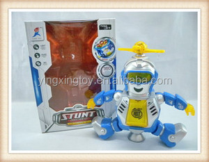 cute plastic electric bo dancing toy robot