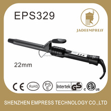 Marcel handle hair curling irons metal hair curling wand to create waves EPS329