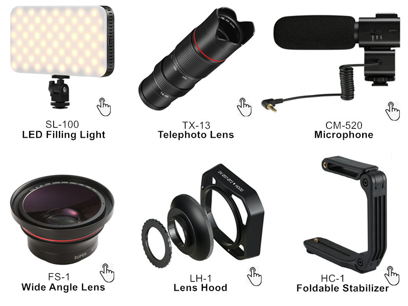 Kafa Giyilebilir Video Kamera EP5 1080 P 30FPS Kamera WiFi Mini DV Desteği Video Kayıt Ücretsiz Eller