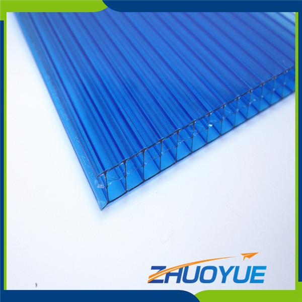 6mm building material uv resistant polycarbonate