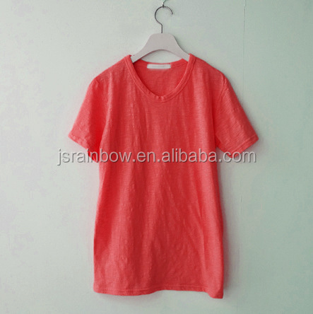 Wholesale t shirt womens t-shirt casual tops short sleeve