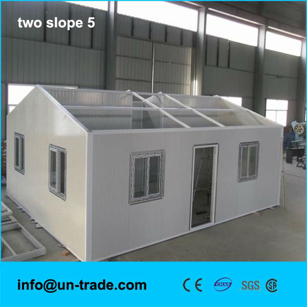 easy to construction and transportion prefab house