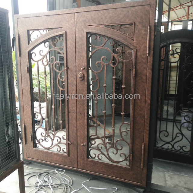 Buy Cheap China Elegant Wrought Iron Entry Doors Products Find
