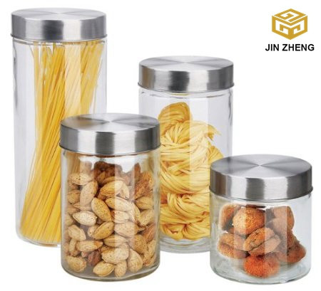 Traditional Tall Gl Pasta Containers Canister Clear Very Spaghetti Jar