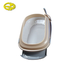 Eco-Friendly Cat Litter Scoop Cat Litter Box with Drawer and Gridding Including Scoop