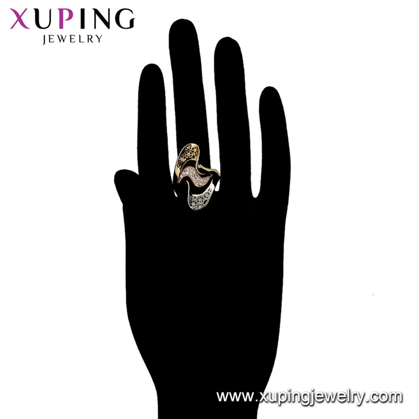 16074 Xuping latest gold finger ring designs gold diamond rings,womans gold ring