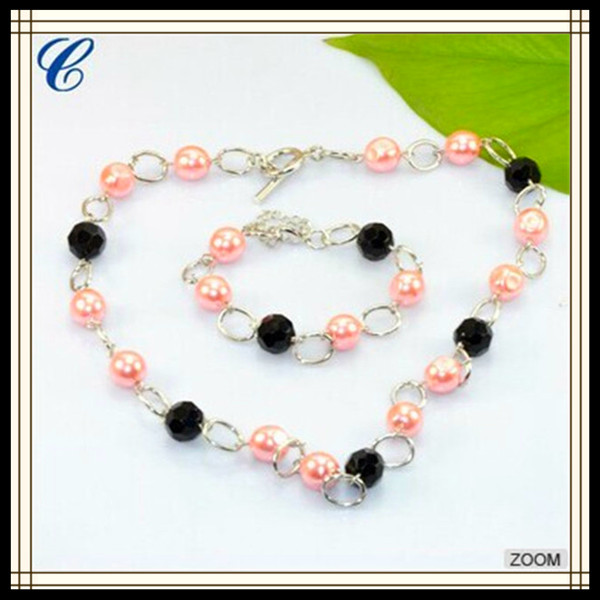 CZXS027 New Hot Products Pearl Jewelry Set Women Ornament Wholesale