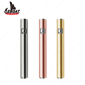 High Tech 510 Thread Battery Custom Logo Usb E-cigarette Battery Eboattimes E Cig Wholesale China