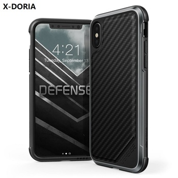 innovative design 046f8 17f6d Original X-doria Defense Lux Mobile Phone Case Factory Price Shockproof  Anti Fall Luxury Cell Phone Case For Iphone X Je-009 - Buy Cell Phone Case  For ...
