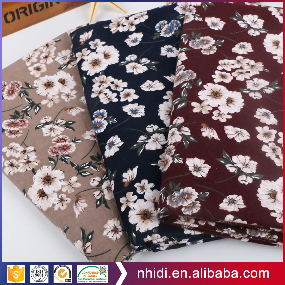 china textile wholesale floral reactive dyed printed 100% cotton colors fabrics