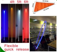 Fully Flexible antenna for trucks led antenna RGB led flag light suzuki swift car antenna