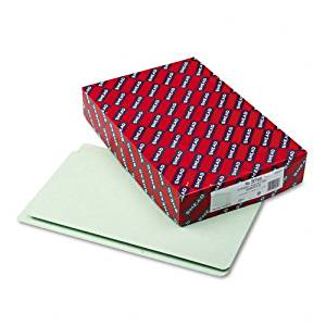 """Smead : Extra Heavy Pressboard Folders, Straight Cut, End Tab, 2"""" Cap, Legal, GG, 25/Bx -:- Sold as 2 Packs of - 25 - / - Total of 50 Each"""
