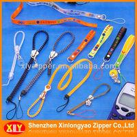Wholesale Zipper Band key Chain Lanyard Strap