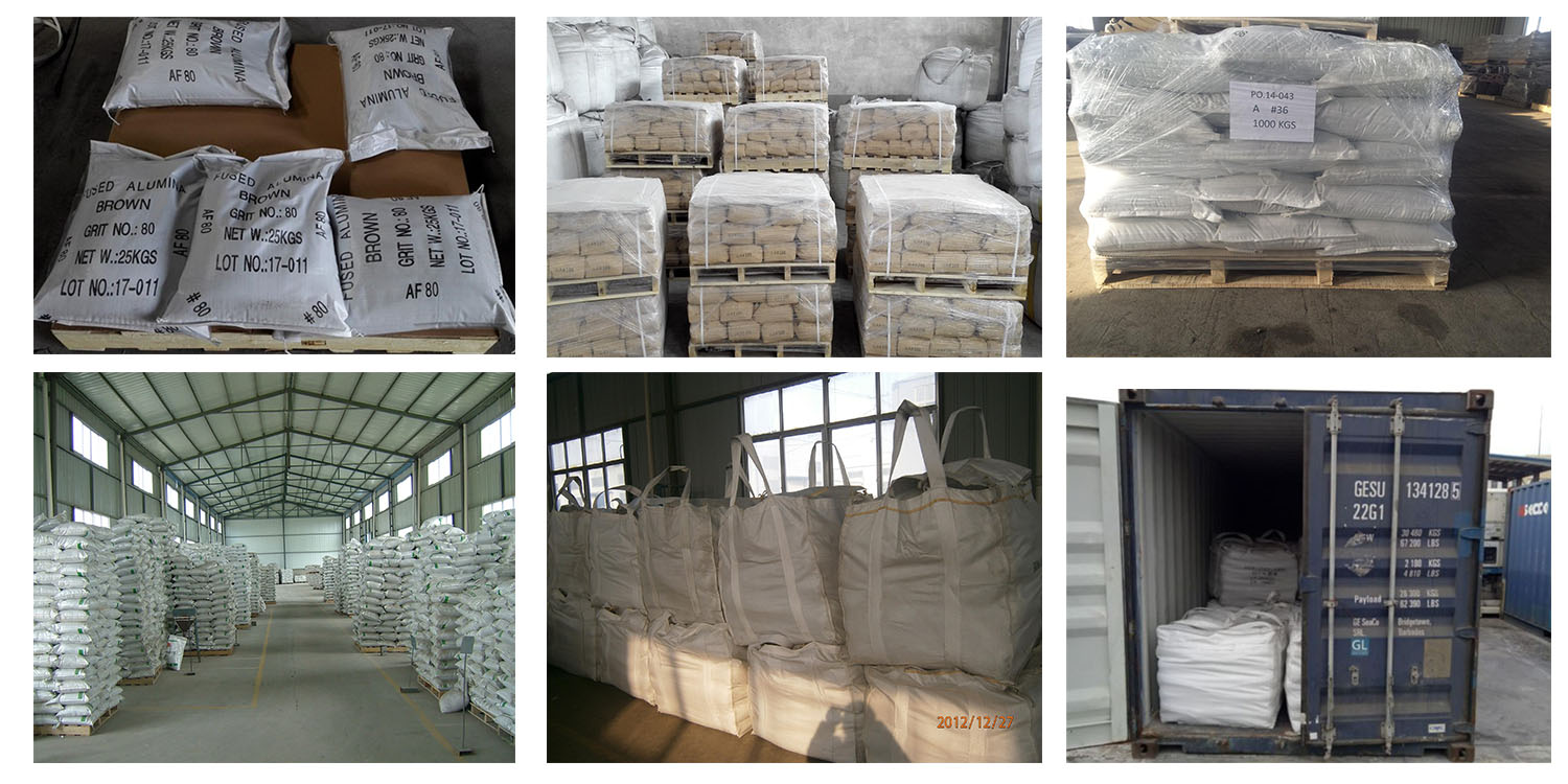 Abrasive And Refractory Bfa brown Aluminum Oxide brown Fused Alumina