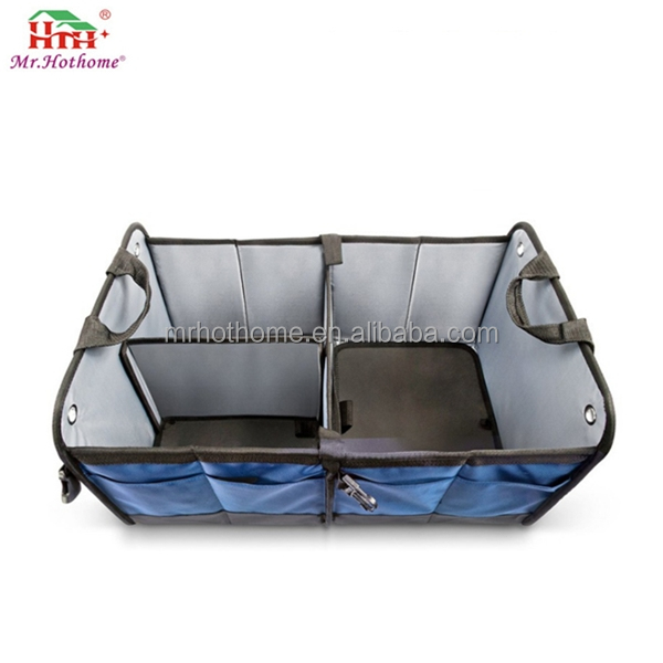 Travel new suv cargo truck boot storage box foldable auto drive organizer bag waterproof car trunk organizer