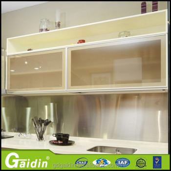 Gaidin Kitchen Aluminum Frame Profile Cabinet Gl Door