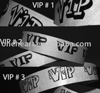 2014 Hot vente promotionnel Tyvek Wristbands / jetable étanche bracelets