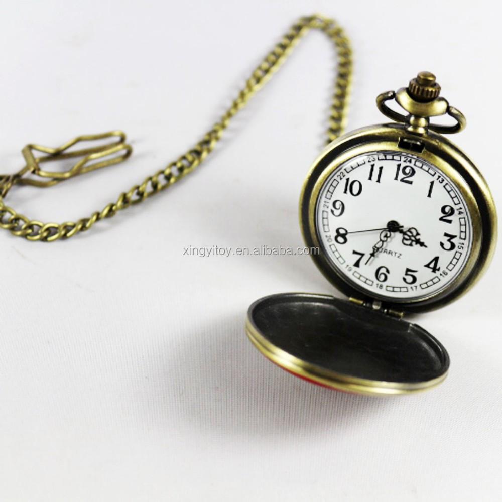 Logotipo de metal deadpool marvel cupreous reloj de - Reloj de cadena ...