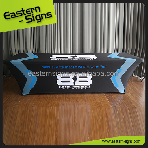 Eastern Signs Table Cloth Custom Sublimation 100% Polyester Table Cloth Import